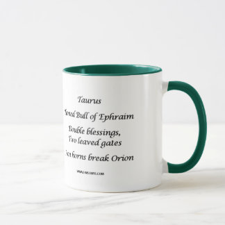 Taurus DreamMaker Mug