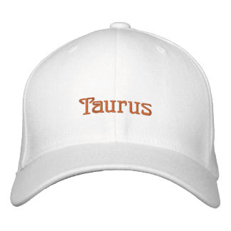 TAURUS EMBROIDERED HAT