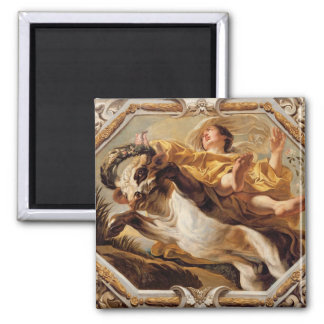 Taurus, from the Signs of the Zodiac Square Magnet