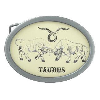 Taurus Horns Belt Buckle