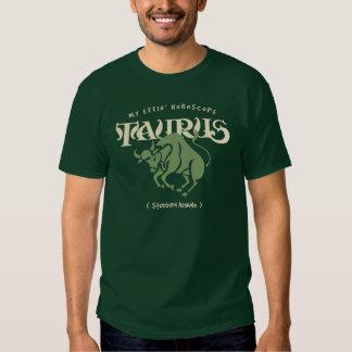 Taurus Horoscope Tshirt