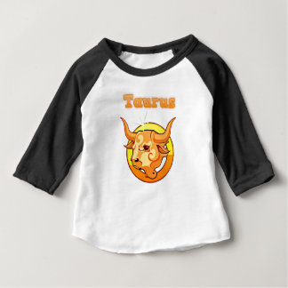 Taurus illustration baby T-Shirt