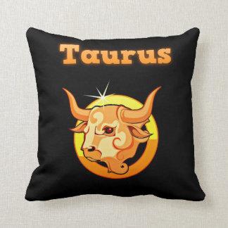 Taurus illustration cushion