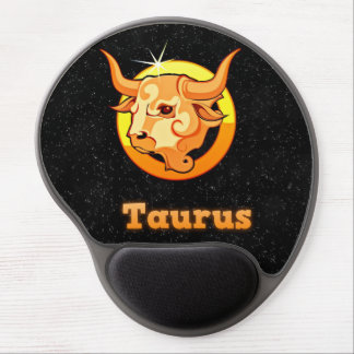 Taurus illustration gel mouse pad