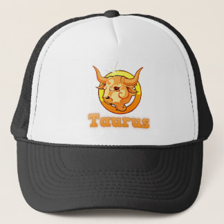 Taurus illustration trucker hat