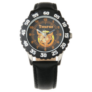 Taurus illustration watch