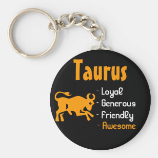 Taurus Key Ring