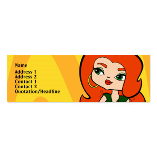 Taurus Profile Card Pack Of Skinny Business Cards
