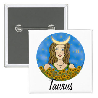 Taurus Square Buttons