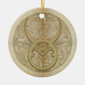 Taurus Star Sign Personalized Ornament