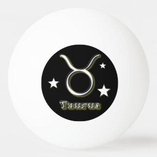 Taurus symbol ping pong ball