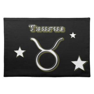 Taurus symbol placemat
