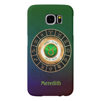 Taurus - The Bull Zodiac Sign Samsung Galaxy S6 Cases