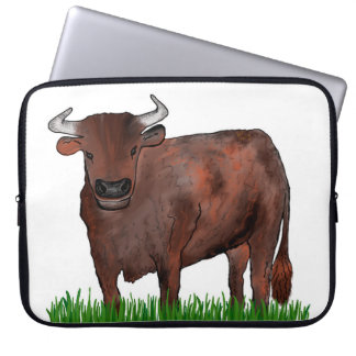 Taurus Zodiac Art Lap Top Case