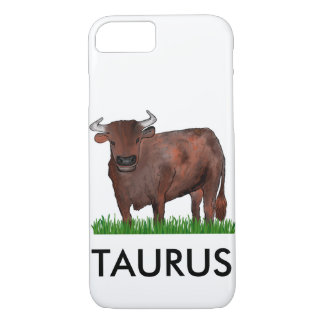 Taurus Zodiac Art Phone Case