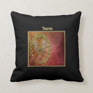 Taurus Zodiac Astrology design Cushion