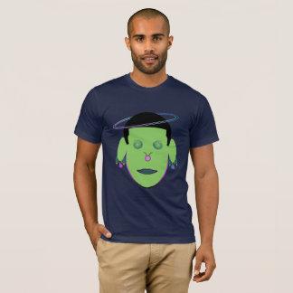 Taurus Zodiac Galactic Dreamer Green Head T-Shirt