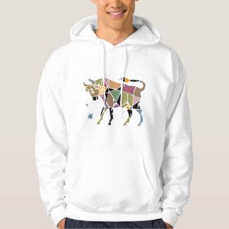 Taurus Zodiac Hooded Pullovers