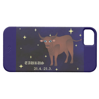 Taurus zodiac iPhone SE + iPhone 5/5S, Barely ther Case For The iPhone 5