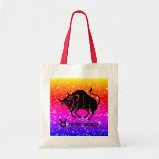 Taurus Zodiac Modern Tote Bags