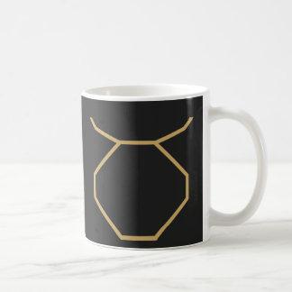 Taurus Zodiac Sign Basic Coffee Mug