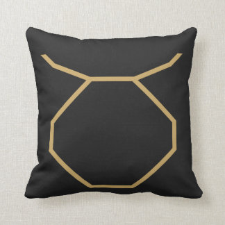 Taurus Zodiac Sign Basic Cushion