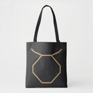 Taurus Zodiac Sign Basic Tote Bag
