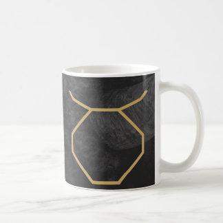 Taurus Zodiac Sign   Custom Background Coffee Mug