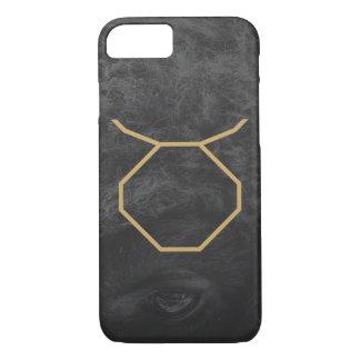 Taurus Zodiac Sign   Custom Background iPhone 7 Case