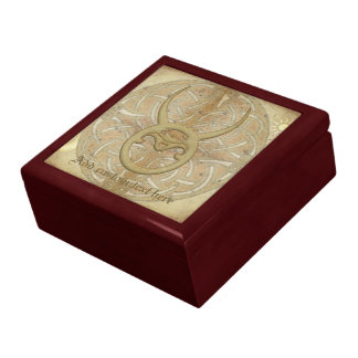 Taurus Zodiac Sign Large Square Gift Box