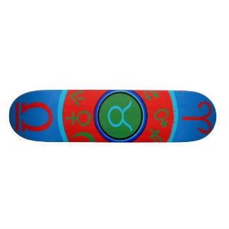 Taurus Zodiac Skateboard