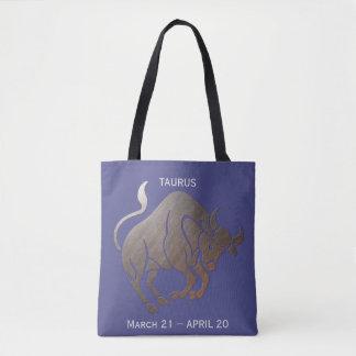 TAURUS Zodiac Tote Bag