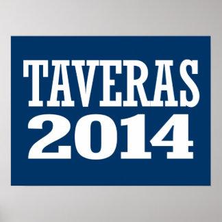 TAVERAS 2014 PRINT