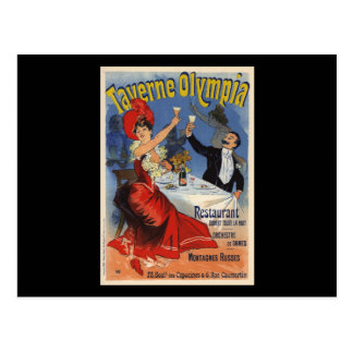 Taverne Olympia Postcard