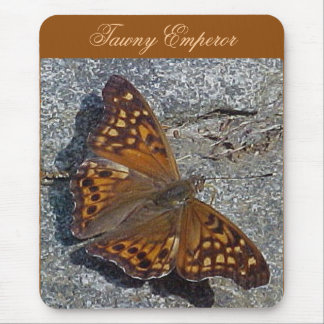 Tawny Emperor Butterfly Mousepad