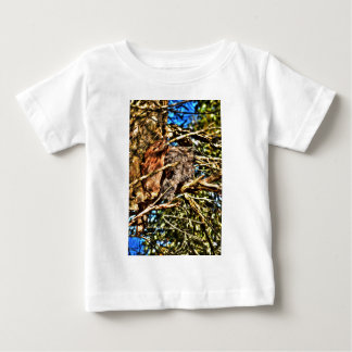 TAWNY FROGMOUTH IN TREE RURAL QUEENSLAND AUSTRALIA TEES