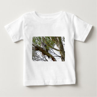TAWNY FROGMOUTH OWL RURAL QUEENSLAND AUSTRALIA BABY T-Shirt