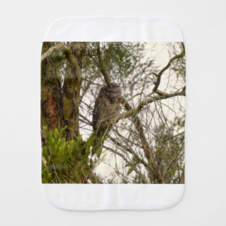 TAWNY FROGMOUTH QUEENSLAND AUSTRALIA BURP CLOTH