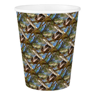 TAWNY FROGMOUTH RURAL QUEENSLAND AUSTRALIA PAPER CUP