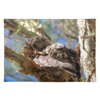TAWNY FROGMOUTH RURAL QUEENSLAND AUSTRALIA PLACEMAT