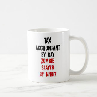 Tax Accountant Zombie Slayer Basic White Mug
