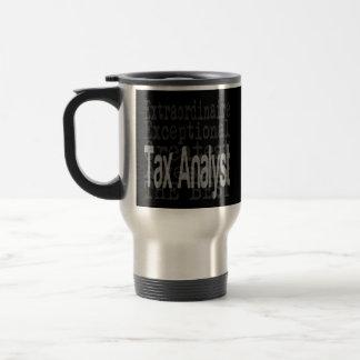 Tax Analyst Extraordinaire Stainless Steel Travel Mug