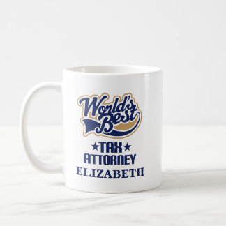 Tax Attorney Personalized Mug Gift