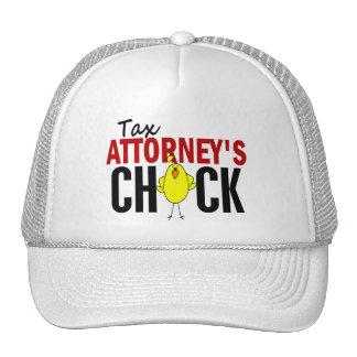 Tax Attorney's Chick Trucker Hat