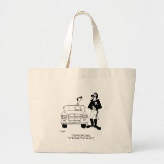 Tax Cartoon 9504 Large Tote Bag