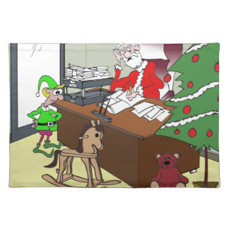 Tax Cartoon 9532 Placemat