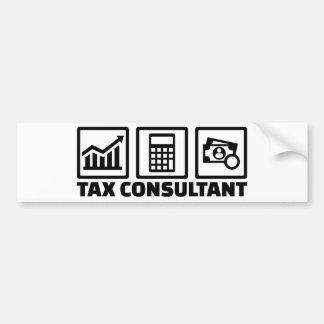 Tax consultant bumper sticker