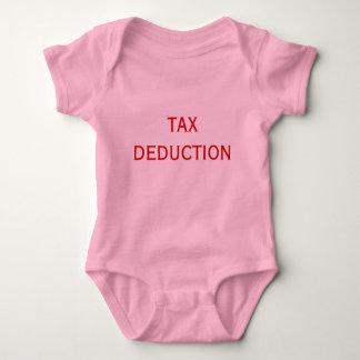 TAX DEDUCTION BABY BODYSUIT