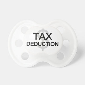 Tax Deduction Baby Pacifier