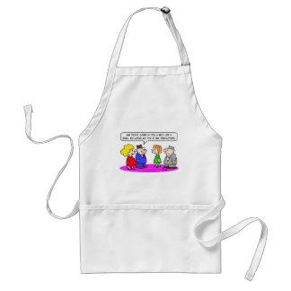 tax deduction pregnant boy or girl apron
